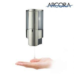 Distributeur de savon automatique ARCORA à montage mural