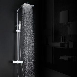 Douche à main multifonction Arcora et système de douche à effet pluie