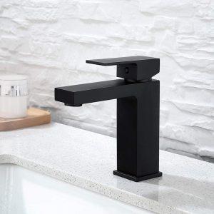 Robinet de lavabo robinet de salle de bain robinet de lavabo mélangeur de lavabo, robinet de salle de bains en cuivre